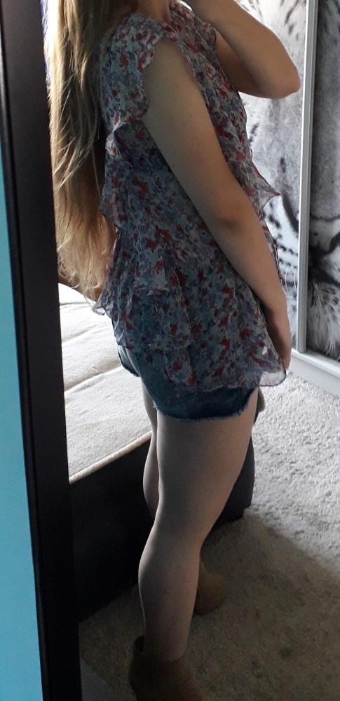 Bluzeczka tunika Top Secret XS Floral...