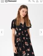 Sukienka w kwiaty House XL lub L...