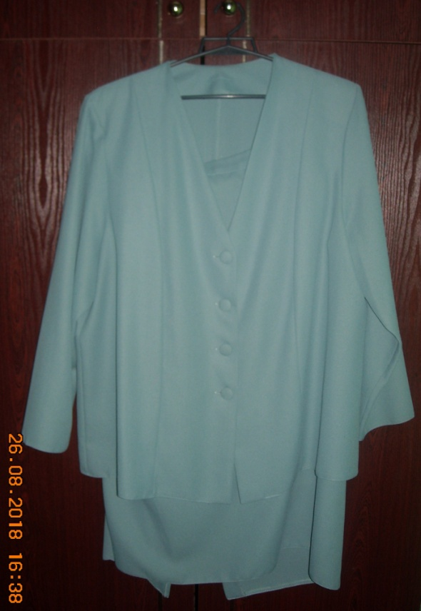 Sukienka spódnica żakiet bluzka garsonka komplet 46 48