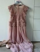 Transparentna sukienka...