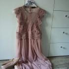 Transparentna sukienka