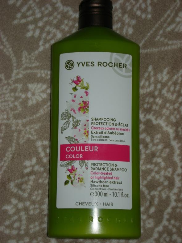 Yves Rocher Szampon chroniący blask włosów farbowanych 300 ml