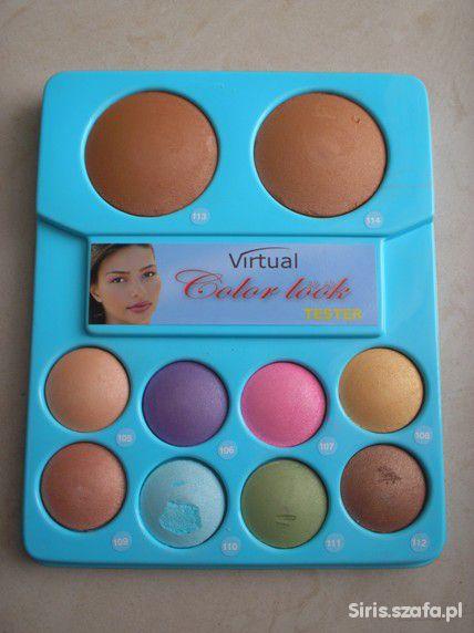 Paleta 8 cieni i 2 pudrów Virtual Color look