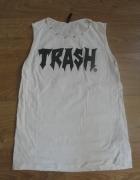 Koszulka bez rękawa Trash...