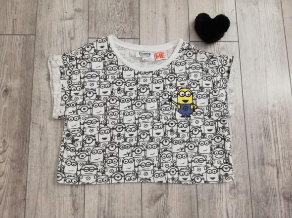 T shirt Koszulka Crop Top Minionki Cropp M