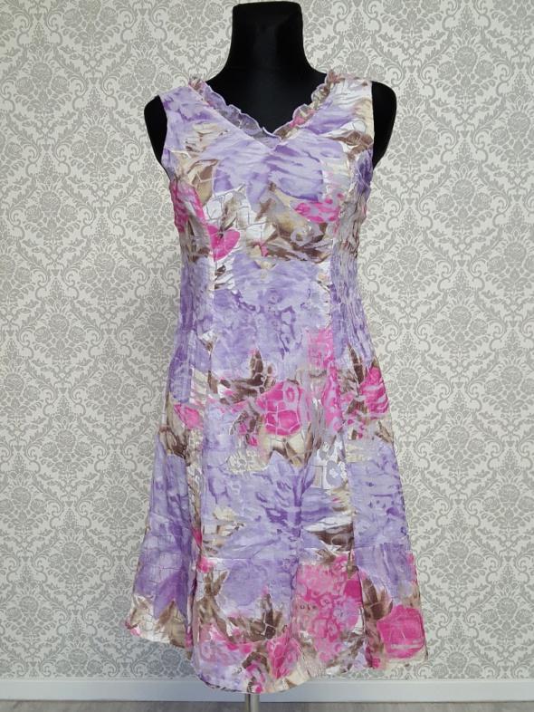 fioletowo rózowa sukienka Chianti...