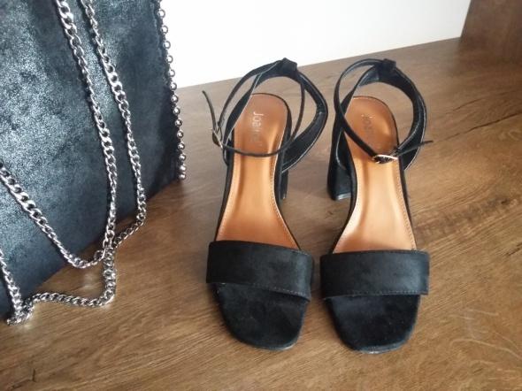 Sandałki czarne