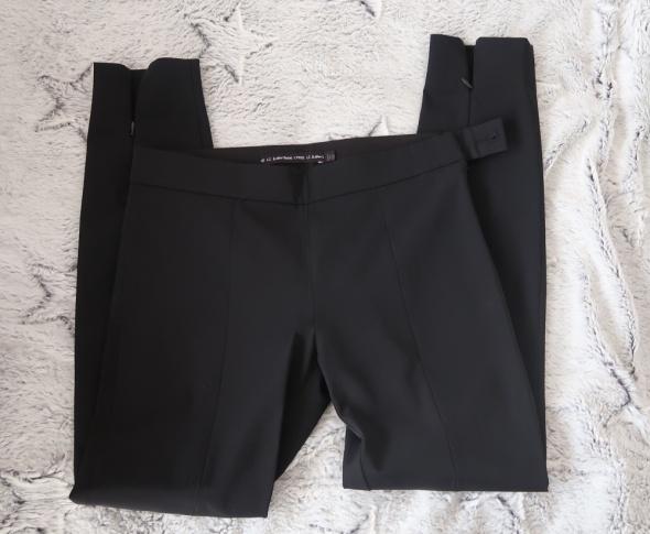 Eleganckie czarne spodnie xs...