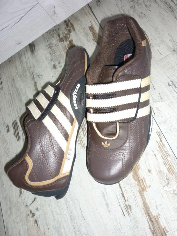 Adidasy Adidas Goodyear 38 brązowe...