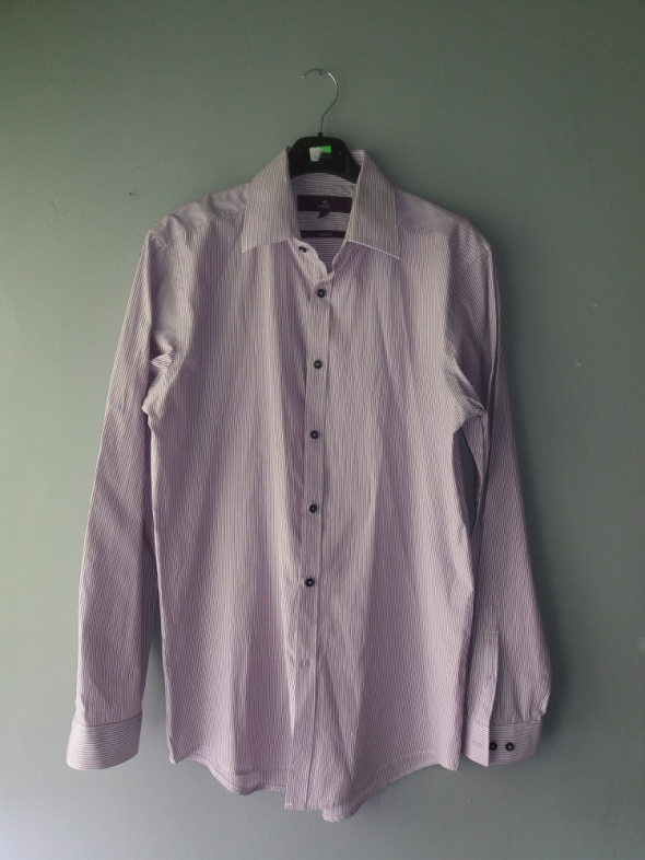Koszule Idealna fioletowa koszula