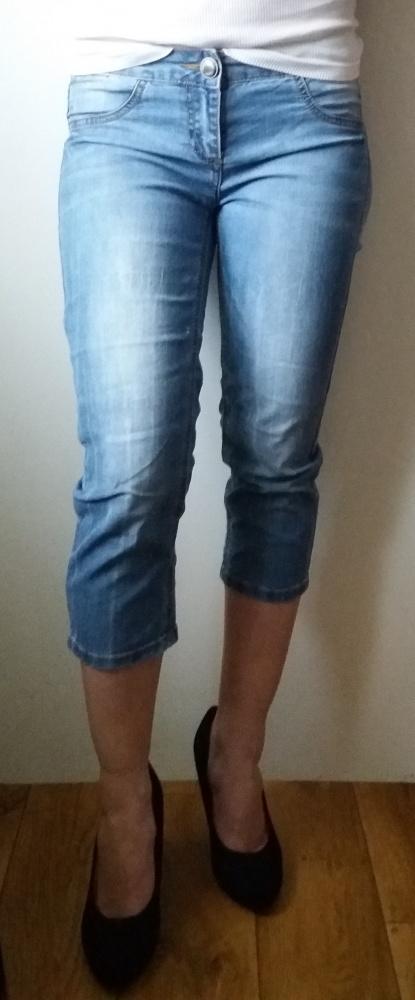 spodnie rybaczki biodrówki Only Jeans rozm S...