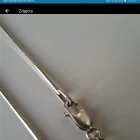 Srebrny łańcuszek Apart jak nowy na prezent