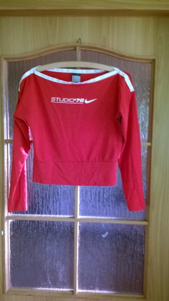 Bluzki Sportowa bluzka bluza nike drifit zatrzaski 40 42