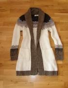długi sweter kardigan Atmosphere