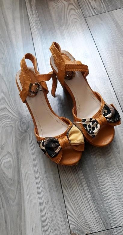 Sandały Śliczne sandałki na Lato 41