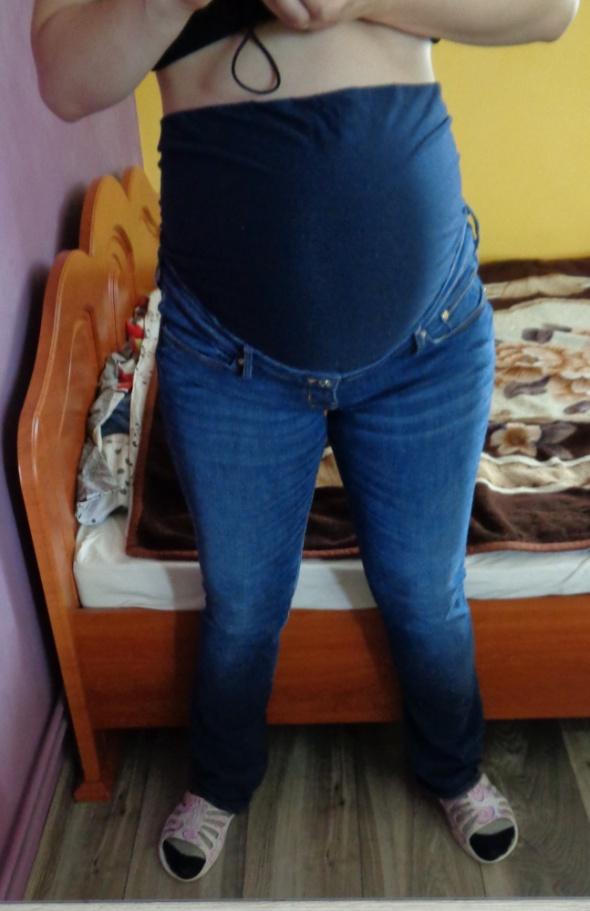 Śpodnie Dżinsowe Ciążowe 44