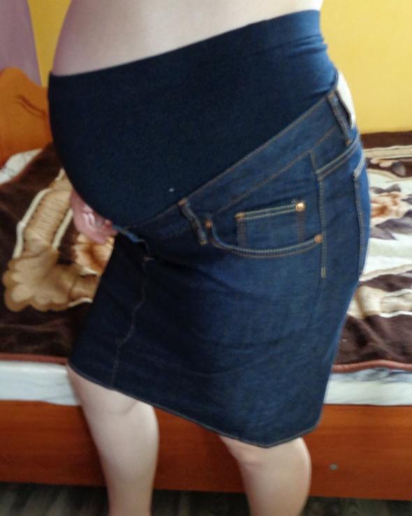 Spódnica dżinsowa ciążowa 40...