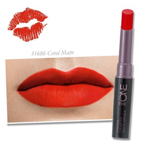 Usta Matowa pomadka The ONE Colour Unlimited kolor Coral Matte