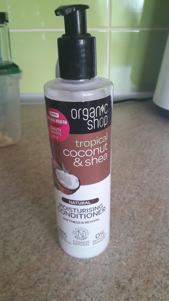 Odżywka do włosów organic shop cocos&shea