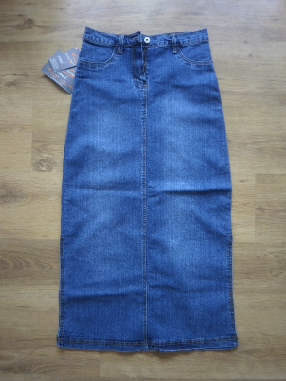 Nowa Długa Jeansowa spódniczka