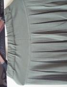 dzianinowa spódnica...