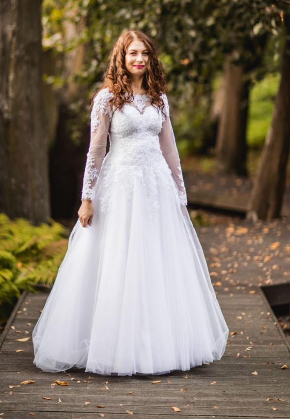 Śliczna sukienka slubna