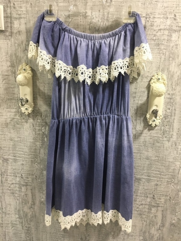 Dżinsowa sukienka hiszpanka...