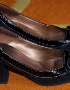Czarne pantofle Quazi rozm 36...