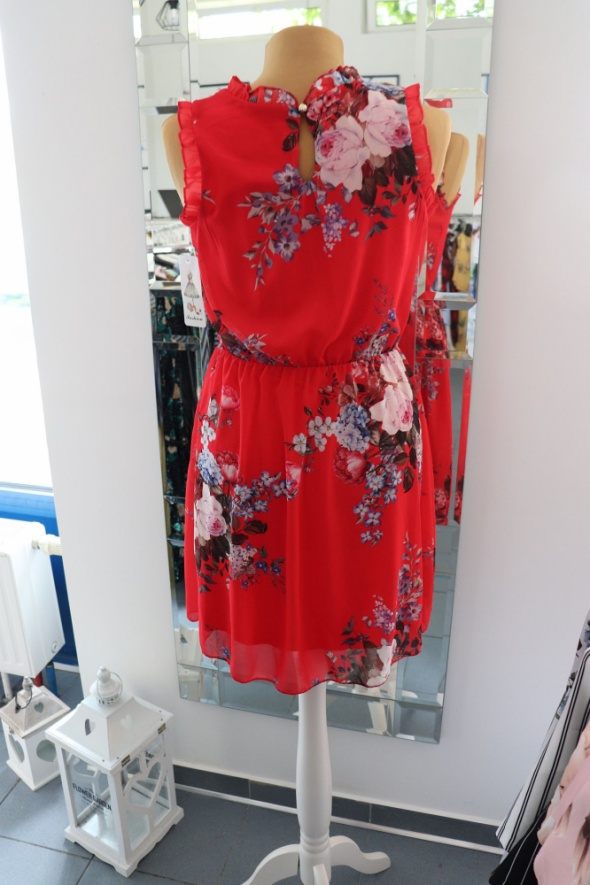 sukienka kwiaty