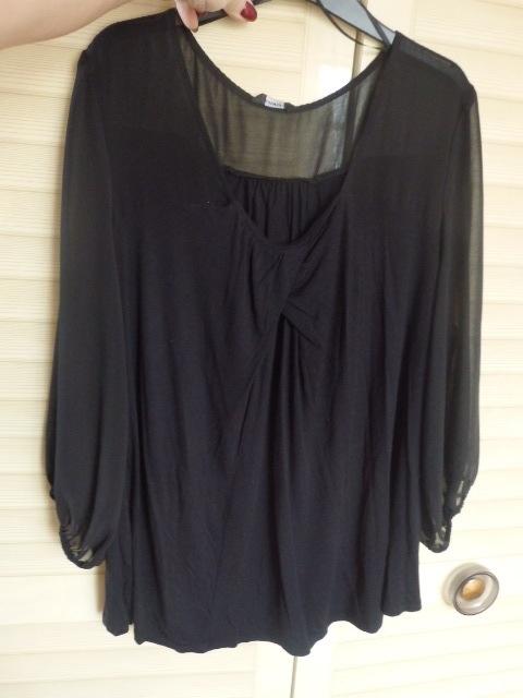 bluzeczka cudna czarna