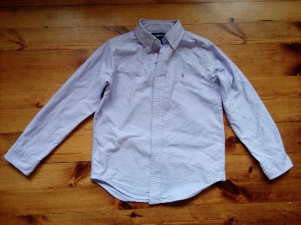 Koszula lawendowa 128 134 cm