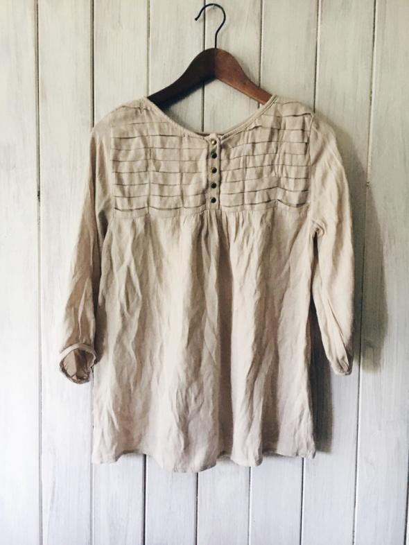 Bluzki bluzka tunika z guzikami