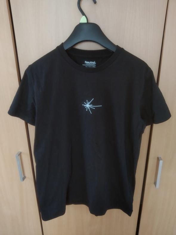 Czarna koszulka tshirt S M L XL