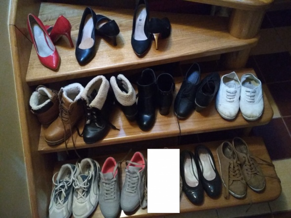 Balerinki paka butów