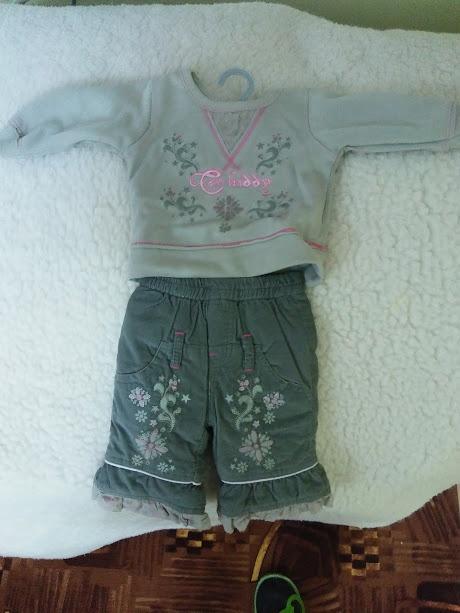 ZESTAW niemowlęcy DRESIK bawełna