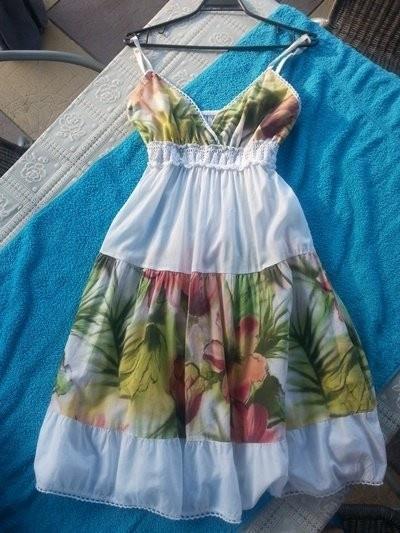Letnia sukienka uni