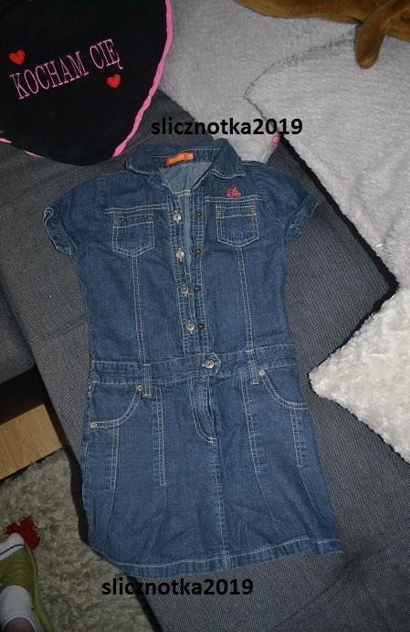Szmijzerka jeans 122cm 6 7 lat