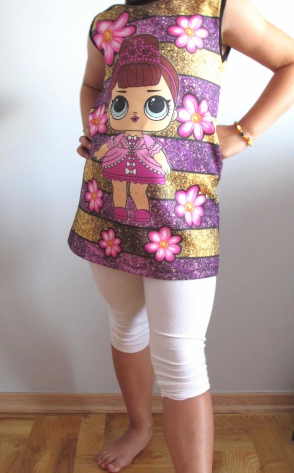 Tunika sukienka bez rękawów LOL