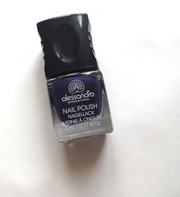 alessandro lakier do paznokci 5 ml nowy purple haze