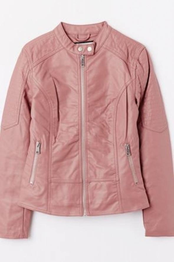 Odzież wierzchnia Nowa kurtka ze skóry ekologicznej Terranova