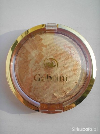 Puder prasowany terakota Gabrini słoneczny 03