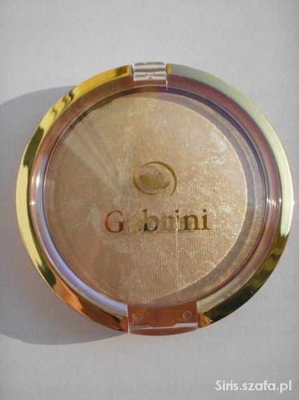 Puder prasowany terakota Gabrini jasny beż 01