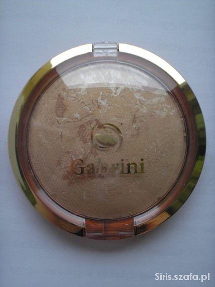 Puder prasowany terakota Gabrini piaskowy beż 06