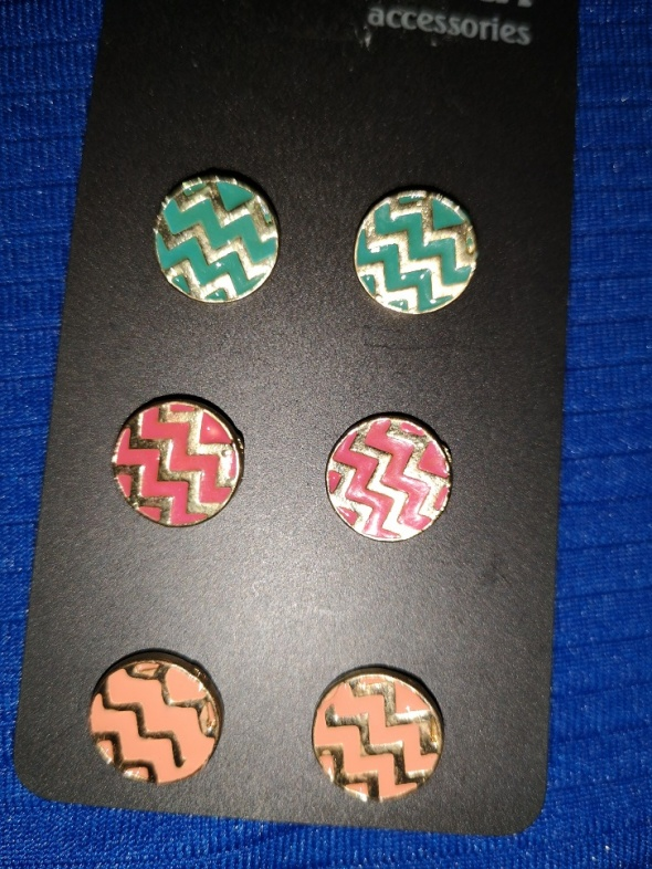 kolorowe kolczyki aztecki wzór reserved...