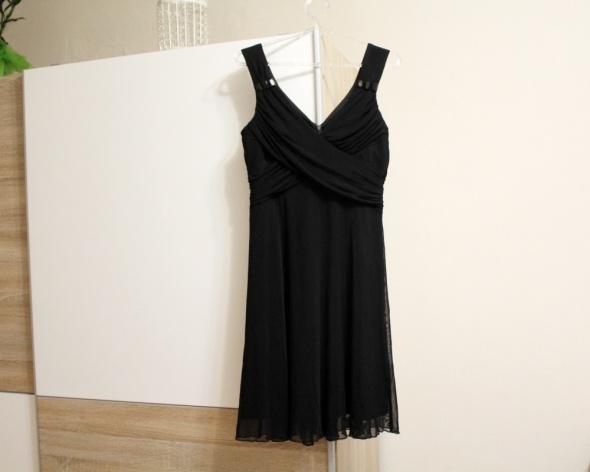 Czarna sukienka wieczorowa nowa elegancka