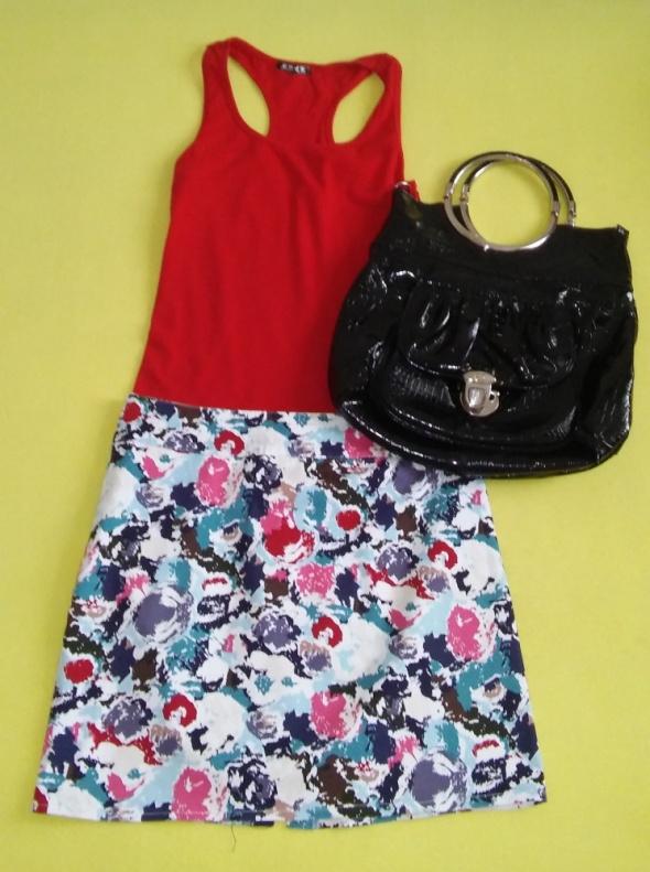 spódnica XL kwiaty