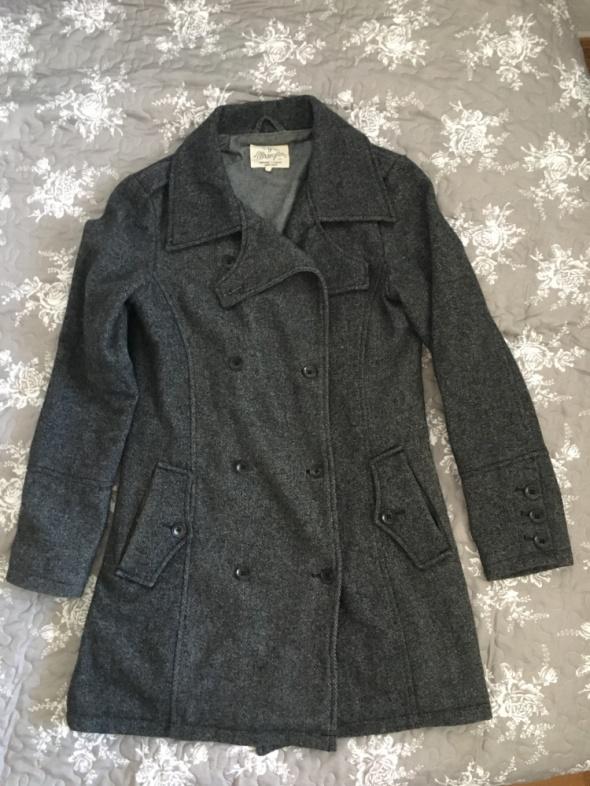 Płaszcz z dodatkiem wełny Wrangler jesienny M...