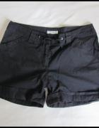MK krótkie czarne spodenki damskie szorty rozmiar 38 M...