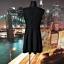 south sukienka karbowana koronka gipiura czarna hit 38 M