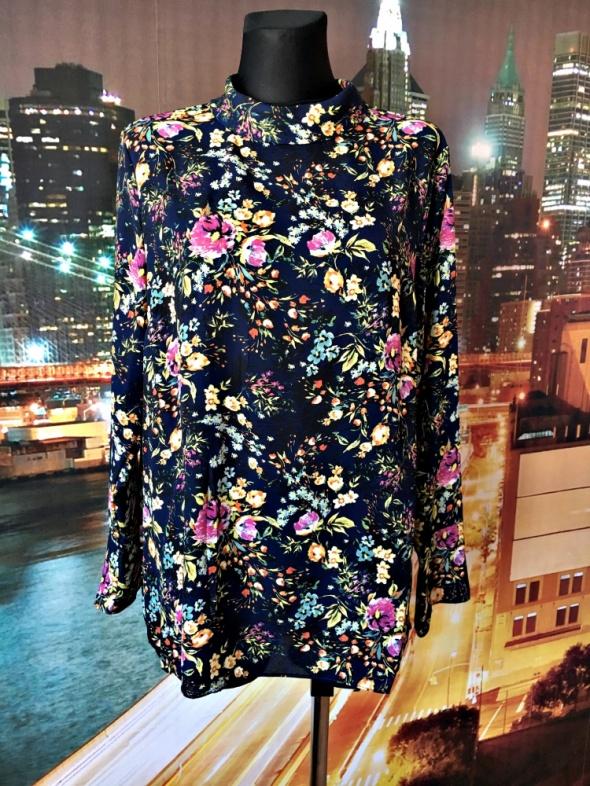 primark bluzka modny wzór kwiaty jak nowa hit 44